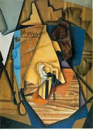 """The Man at the Café"" (1914), de Juan Gris"