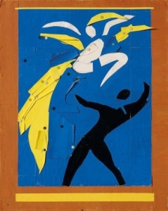 Henri Matisse. Dois dançarinos (Deux danseurs), 1937-38 Imagem divulgação [Museu National d'Art Moderne/Centre de Création Industrielle, Centre Georges Pompidou]