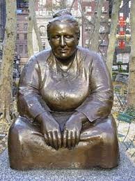 Gertrude Stein, no Bryant Park, NY
