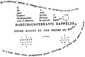 Poema de Guillaume Apollinaire