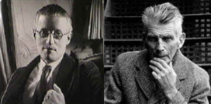 James Joyce and Samuel Beckett